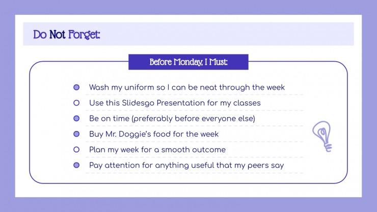 Happy planner teacher presentation template