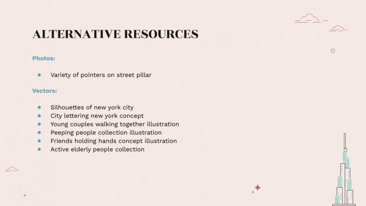 New York Travel Guide presentation template