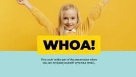 Modelo de apresentação Apresentação feliz