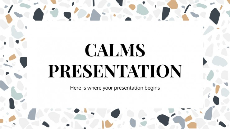 Plantilla de presentación Presentación relajada