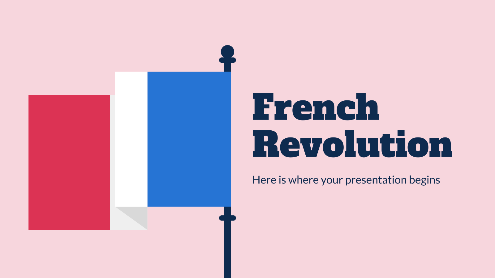 French Revolution presentation template