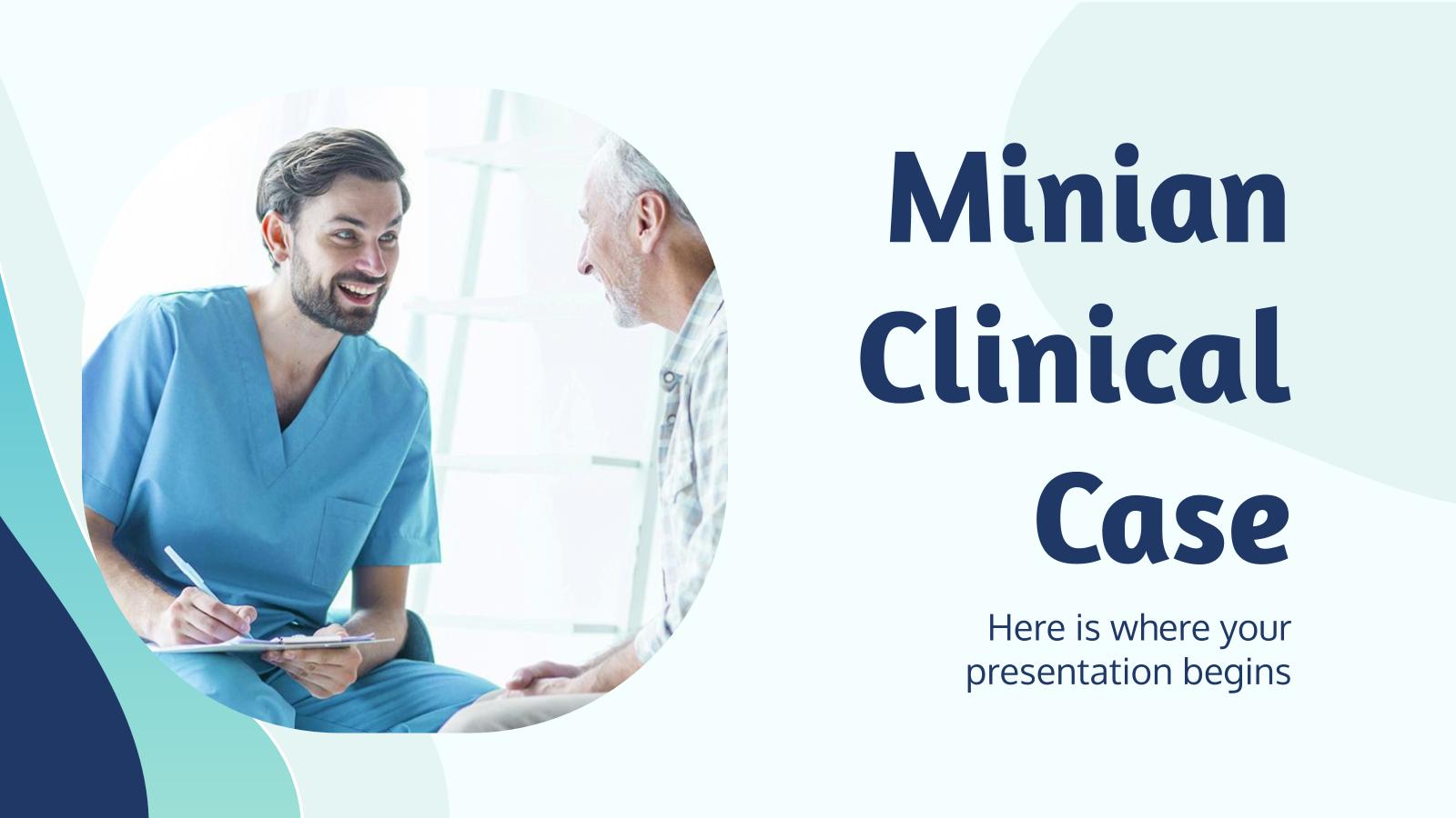 Modelo de apresentação Caso clínico Minian