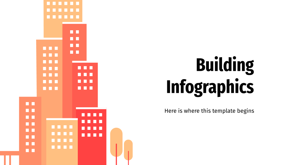 Building Infographics presentation template
