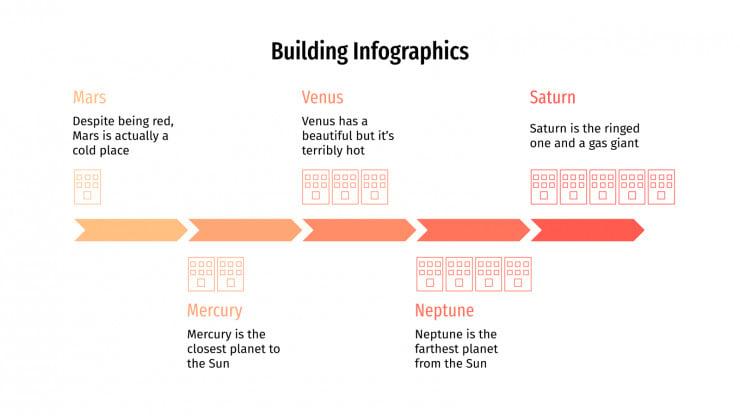 Building Infographics presentation template
