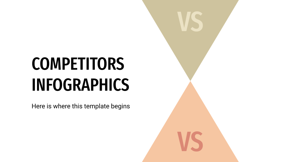 Competitors Infographics presentation template