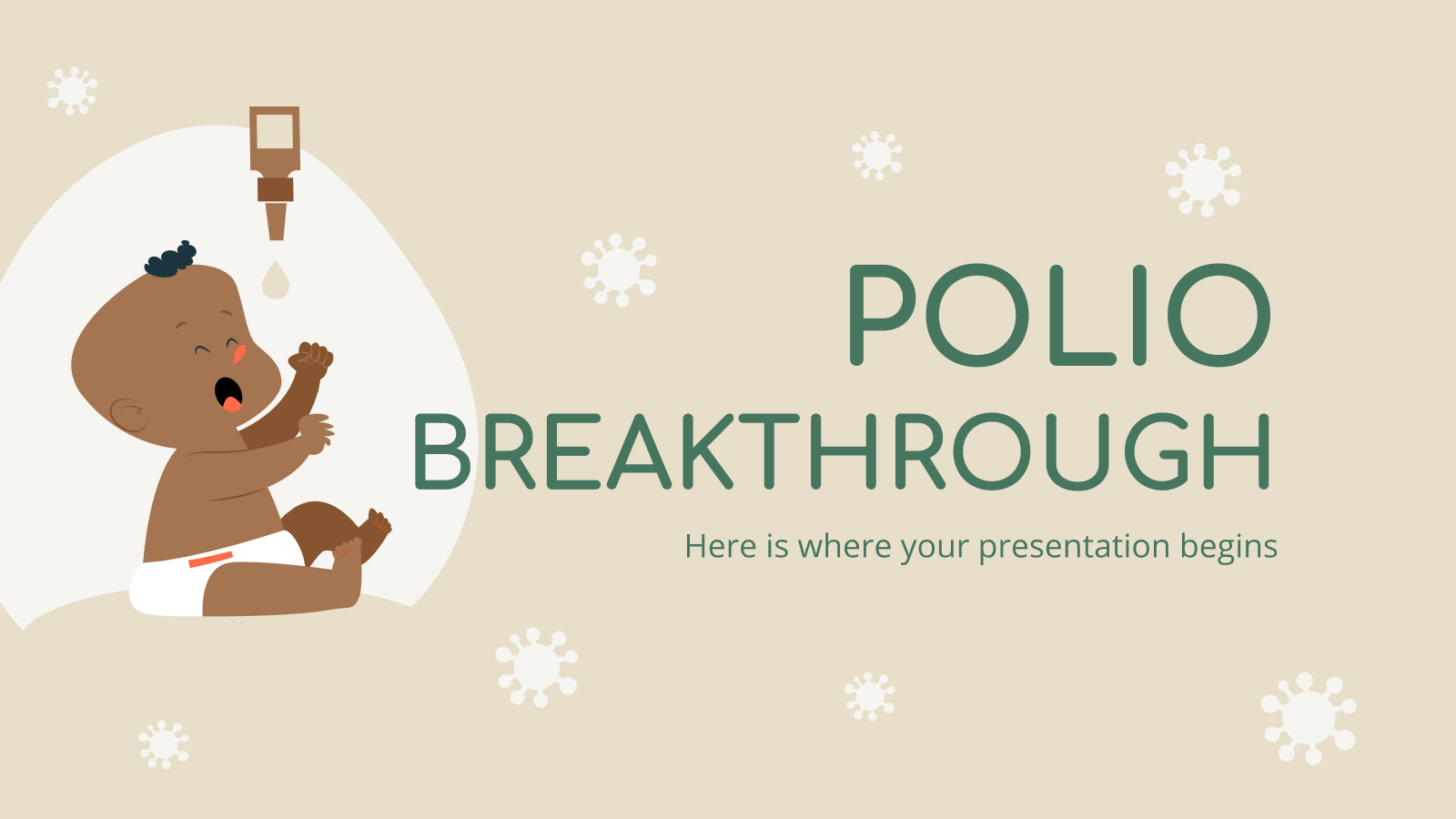 Polio breakthrough presentation template