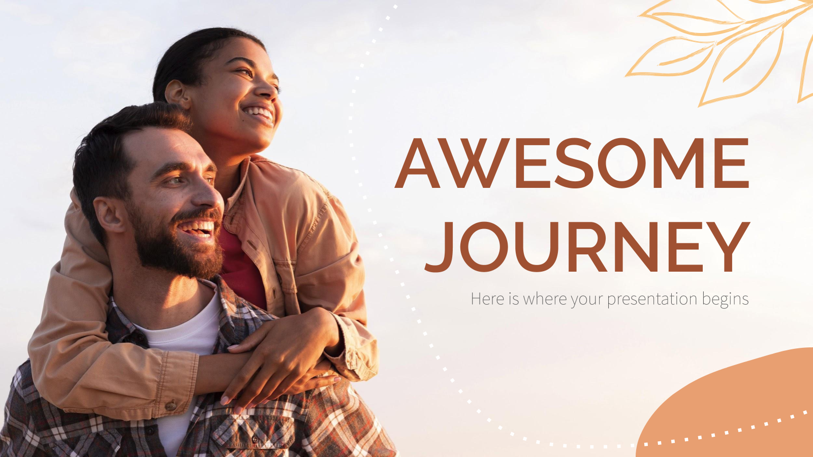Awesome Journey presentation template