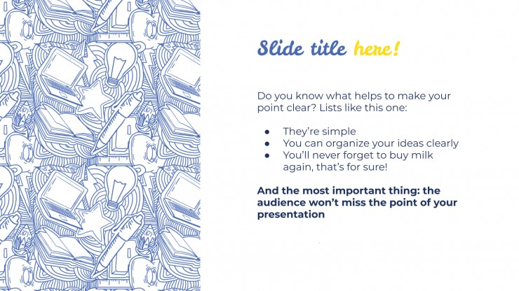 International Day of Education presentation template