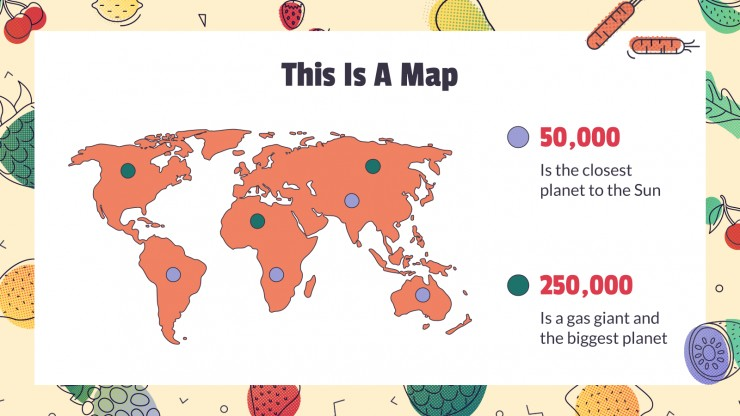 Atelier sur la nutrition et l'alimentation : Modèles de présentation