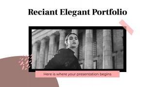Portfolio élégant Reciant : Modèles de présentation