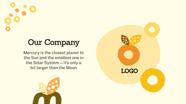 Creative Campaign presentation template
