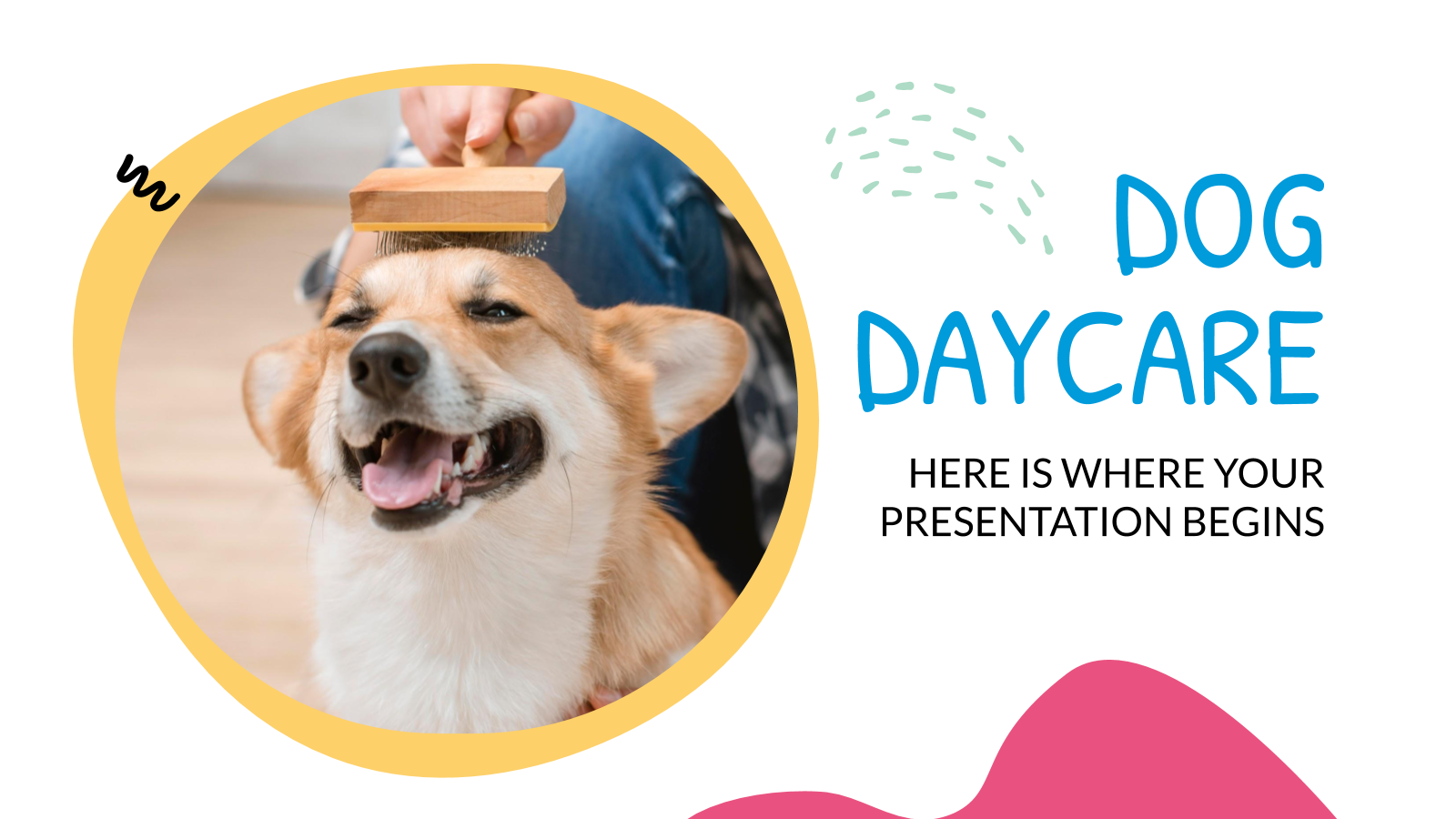 Dog Daycare presentation template