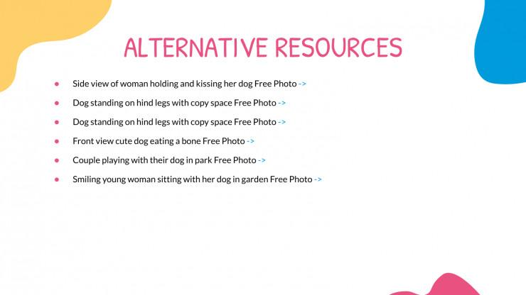 Plantilla de presentación Guardería canina