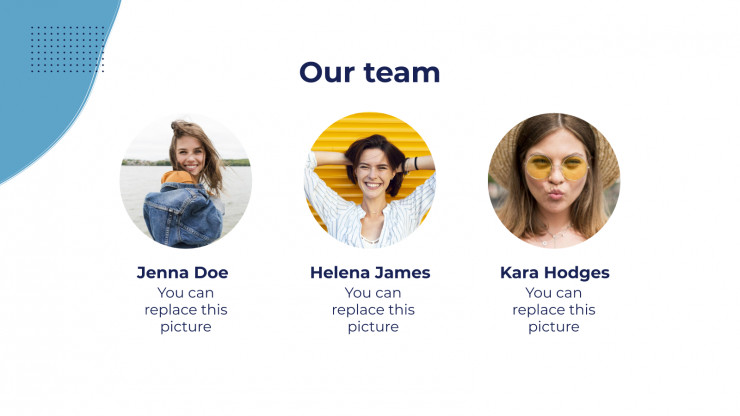 Plantilla de presentación Marketing para influencers