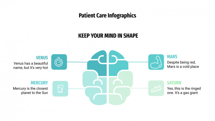 Patient Care Infographics presentation template