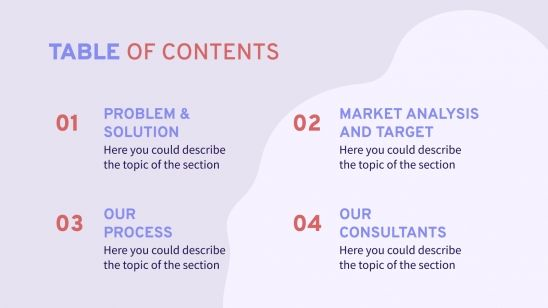 Public Consulting presentation template