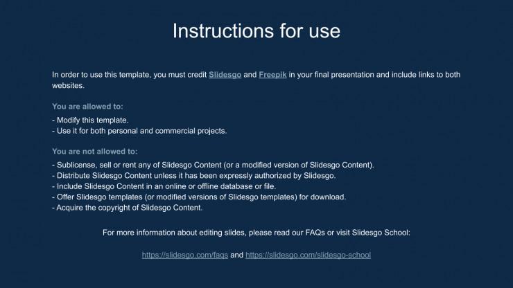 3D Rings presentation template