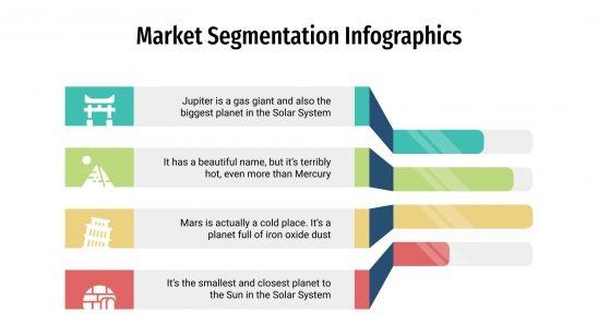 Infographies de segmentation du marché : Modèles de présentation