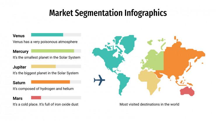 Plantilla de presentación Segmentación de mercado