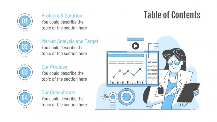 Modelo de apresentação Consultoria em tecnologia