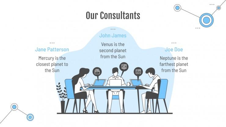 Plantilla de presentación Consultoría tecnológica