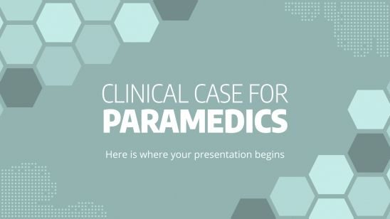 Clinical Case for Paramedics presentation template