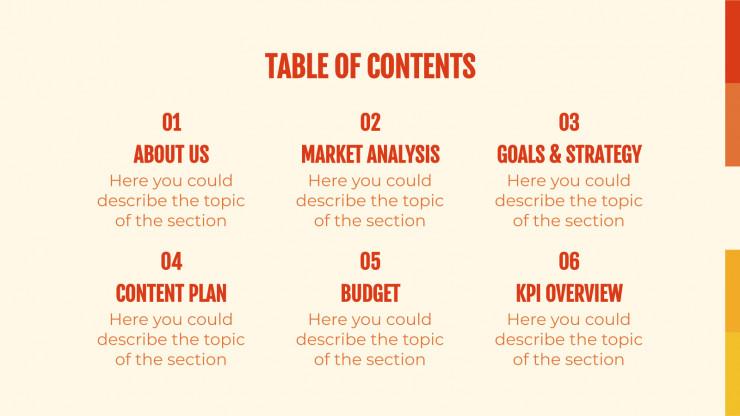 Glist Media presentation template