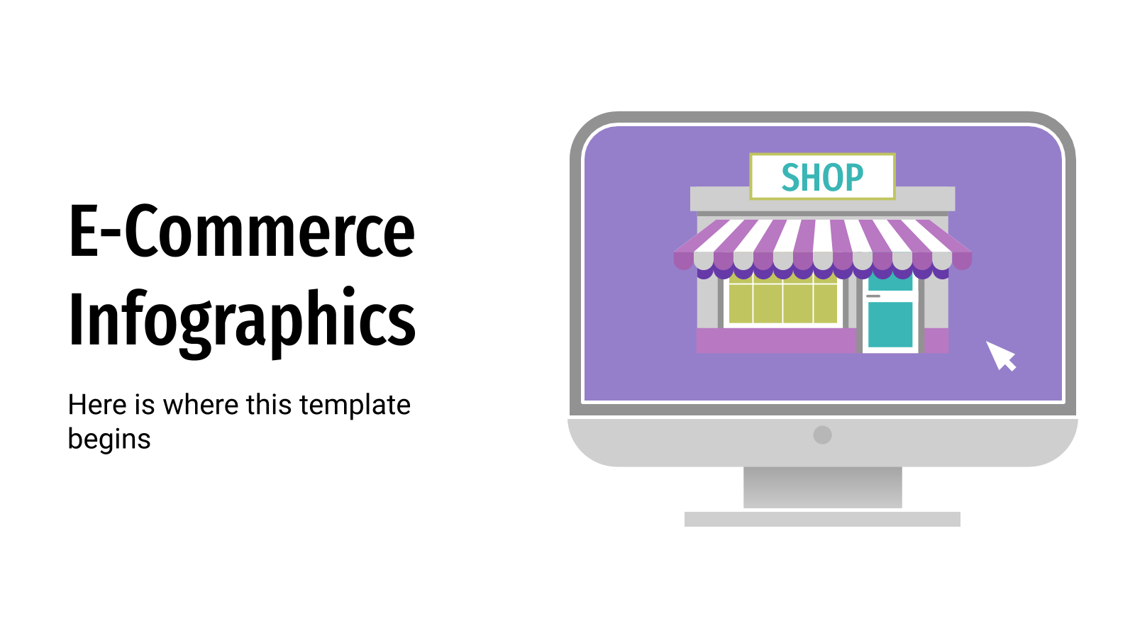 E-Commerce Infographics presentation template