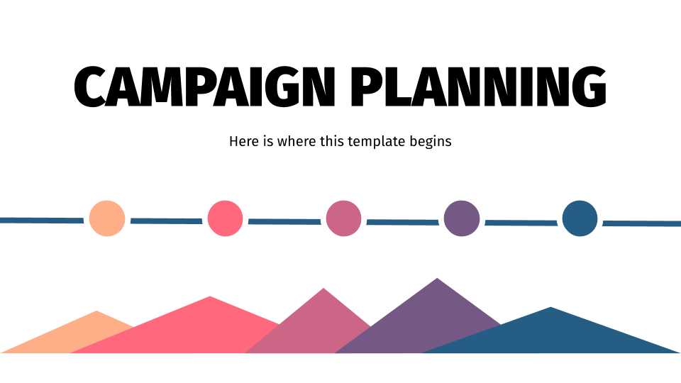 Planification de campagne : Modèles de présentation