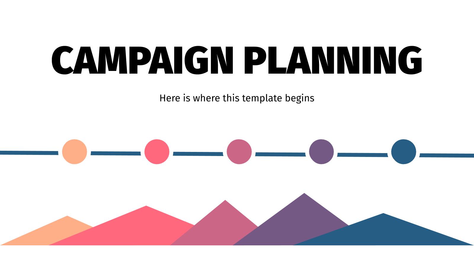 Modelo de apresentação Planejamento de campanhas