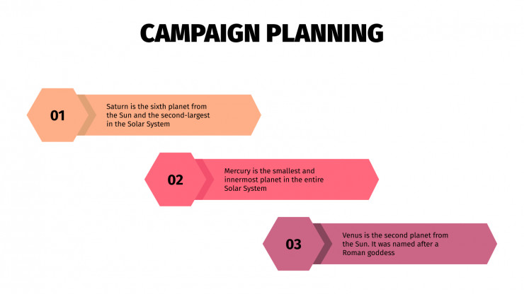 Campaign Planning presentation template