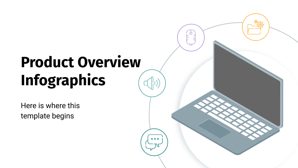 Product Overview Infographics presentation template