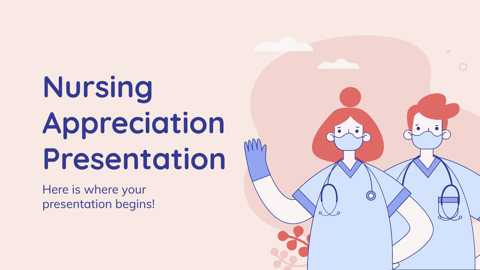 Nursing Appreciation presentation template