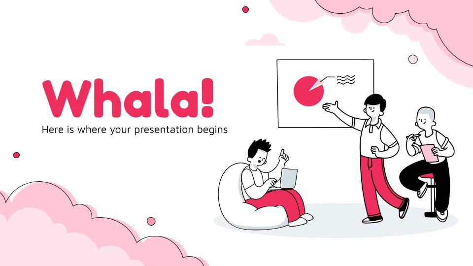 Whala! presentation template