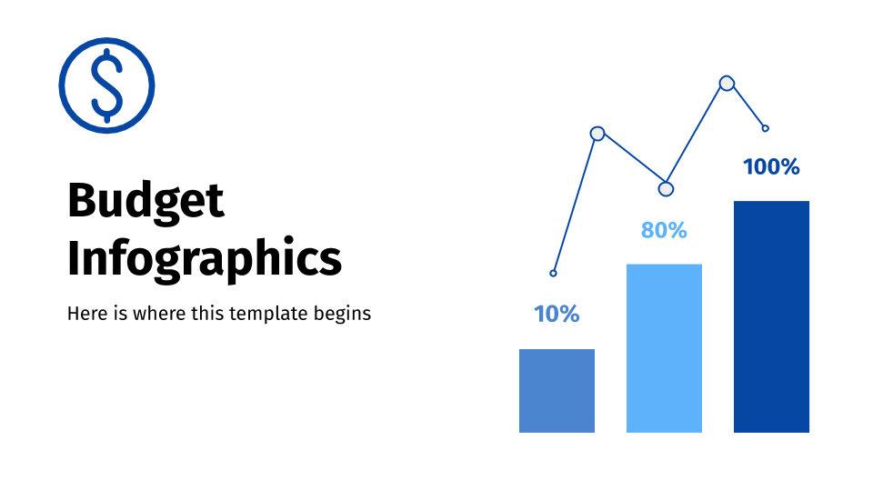 Budget Infographics presentation template