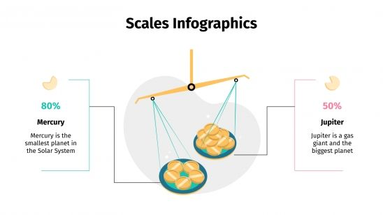 Scales Infographics presentation template