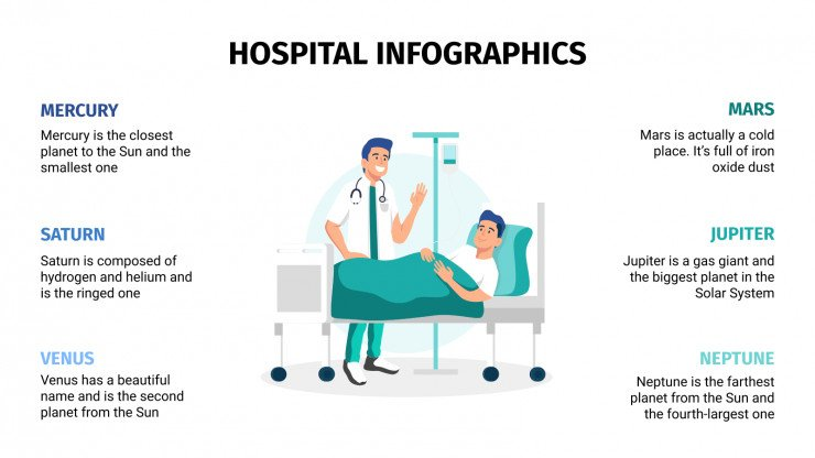 Hospital Infographics presentation template