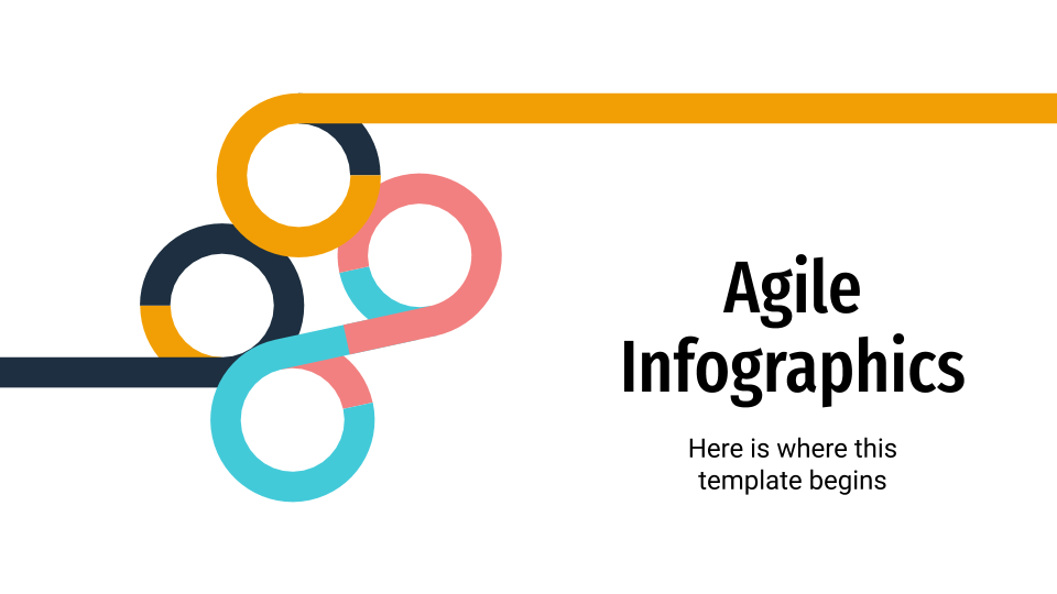 Agile Infographics presentation template