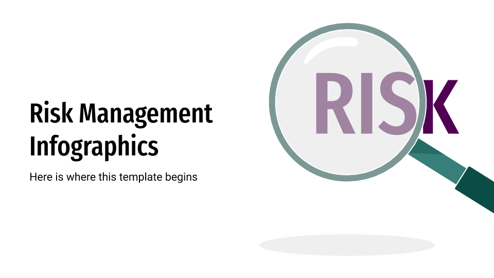 Risk Management Infographics presentation template