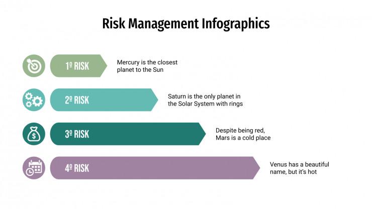Risk Management Infographics presentation template