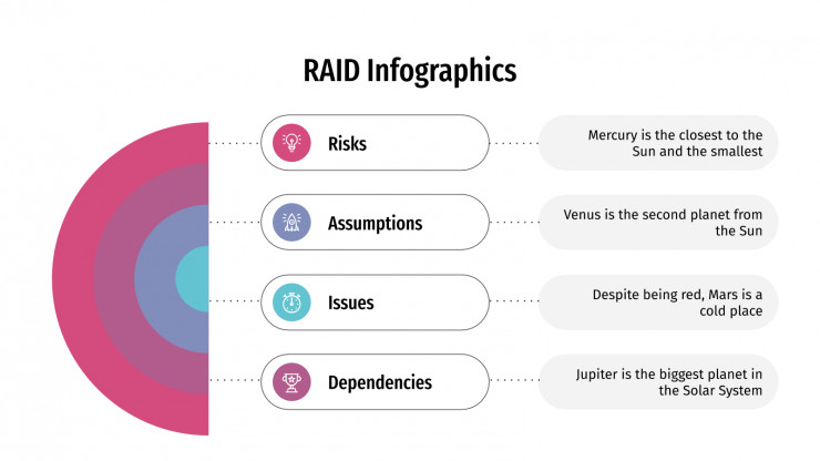 RAID Infographics presentation template