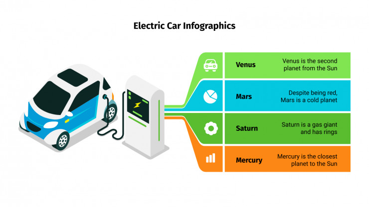 Free Electric Car Infographics For Google Slides And Powerpoint