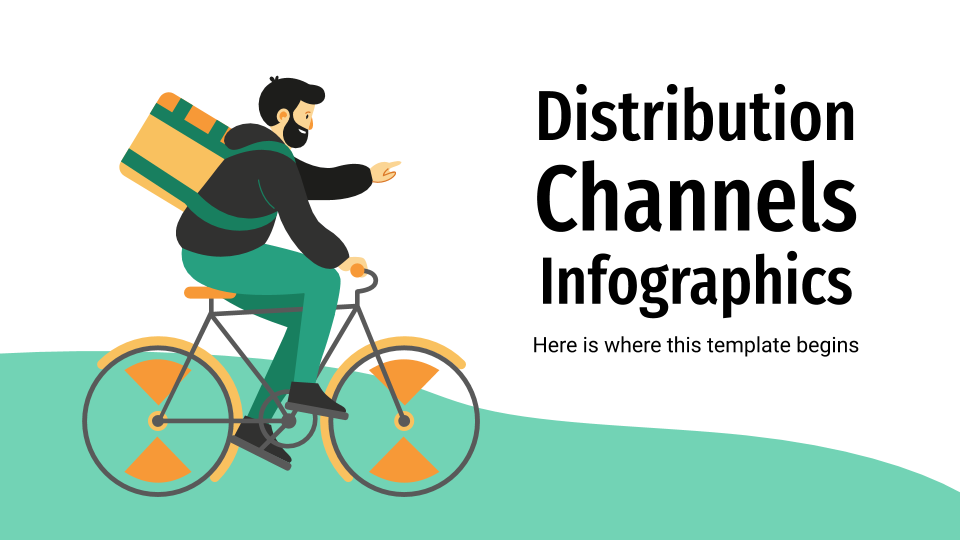Distribution Channels Infographics presentation template