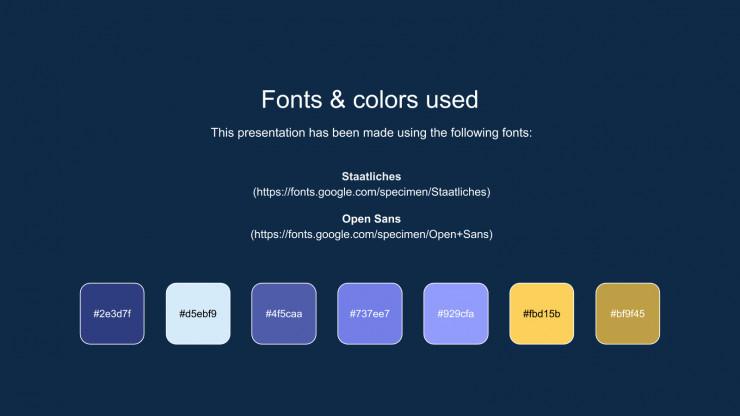 Plantilla de presentación Archivadores interactivos