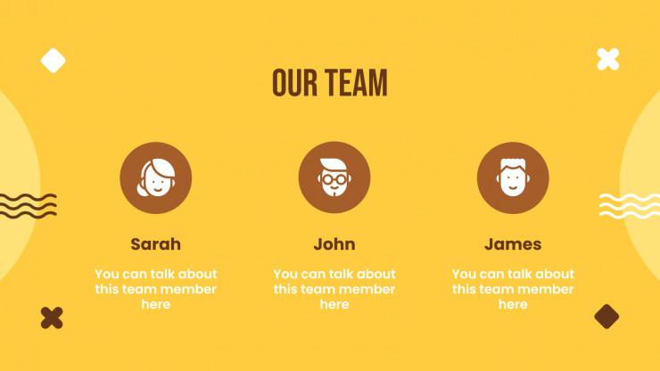 Jellow Yellow presentation template