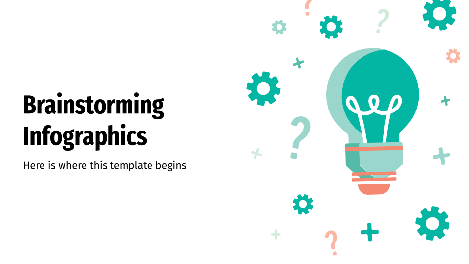 Brainstorming Infographics presentation template
