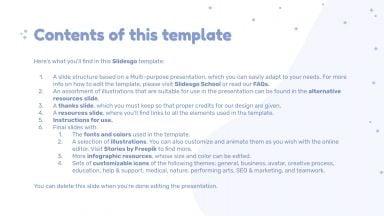 Kawaii Pastel presentation template
