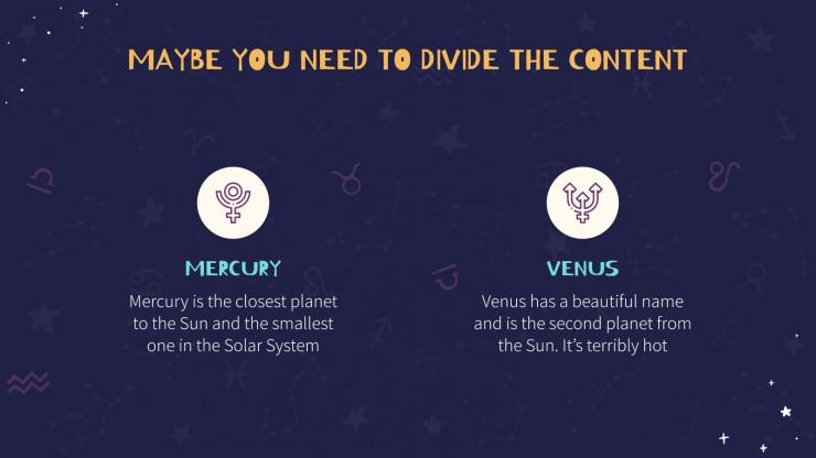 Signes du zodiaque : Modèles de présentation