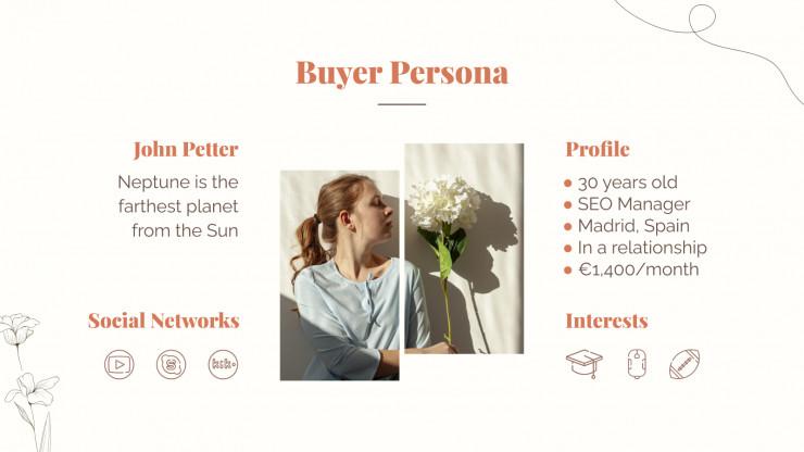 Plantilla de presentación Marketing para redes Govel