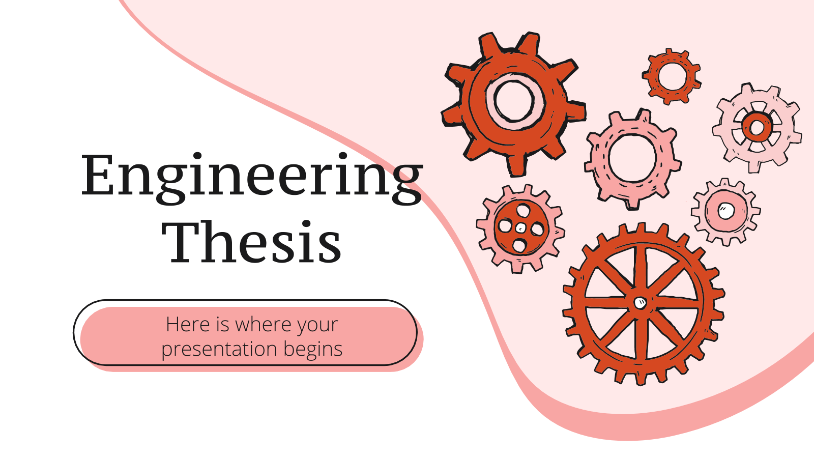 Engineering Thesis presentation template